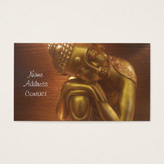 Sleeping Buddha Business Card