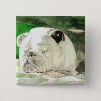 Sleeping Bulldog Button
