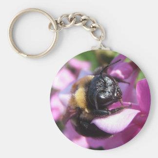 Sleeping Bumble Bee ~ keychain