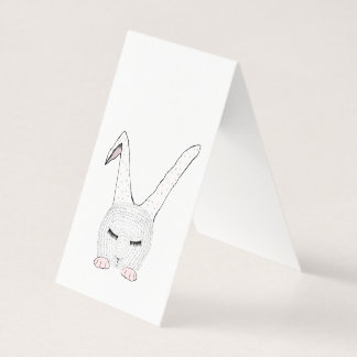 Sleeping Bunnie Business Card