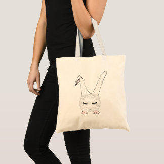 Sleeping Bunnie Tote Bag