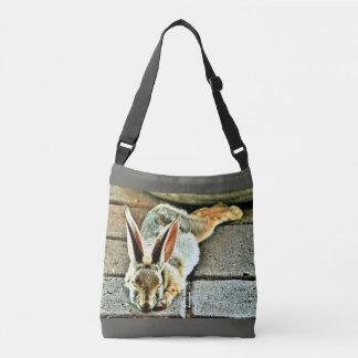 Sleeping Bunny Custom Cross Body Bag