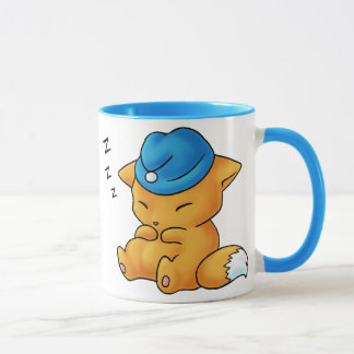 Sleeping Cap Fox Mug