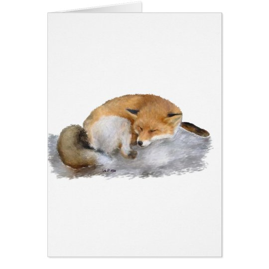 SLEEPING! CARD
