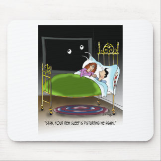 Sleeping Cartoon 9375 Mouse Pad