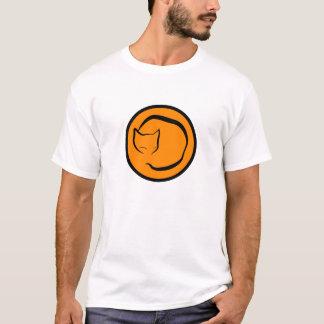 Sleeping cat diagram T-Shirt