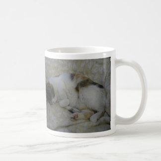 Sleeping Cat - It's too early... Coffee Mug
