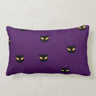 Sleeping cat on a pumpkin Pillow