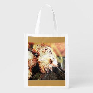 Sleeping Cherub Reusable Bag