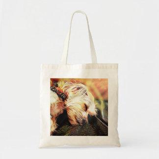 Sleeping Cherub Tote Bag
