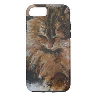 Sleeping Cool Cat Case-Mate iPhone Case