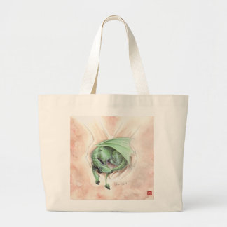 Sleeping Draagon 2013 Large Tote Bag
