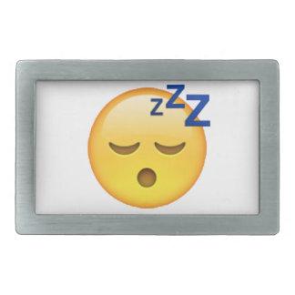 Sleeping - Emoji Belt Buckle