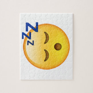 Sleeping - Emoji Jigsaw Puzzle