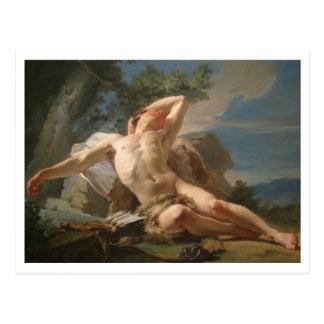 Sleeping Endymion by Nicolas Brenet Postcard