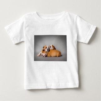 Sleeping English bulldog Baby T-Shirt
