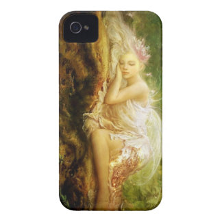 Sleeping Fairy iPhone 4 Case-Mate Cases