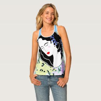 Sleeping Flower Women's All Over T shirt