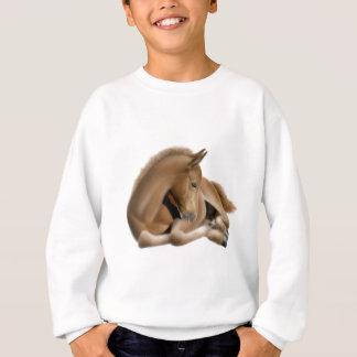 Sleeping Foal Kids Sweatshirt