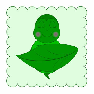 Sleeping Green Turtle Cut Out