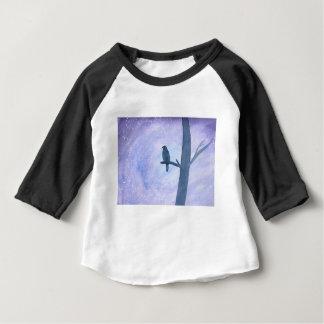 Sleeping Hawk Baby T-Shirt