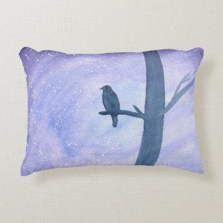 Sleeping Hawk Decorative Pillow