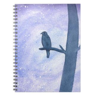 Sleeping Hawk Notebook