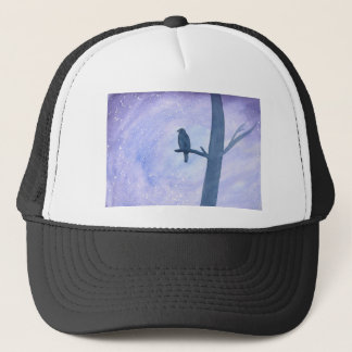 Sleeping Hawk Trucker Hat