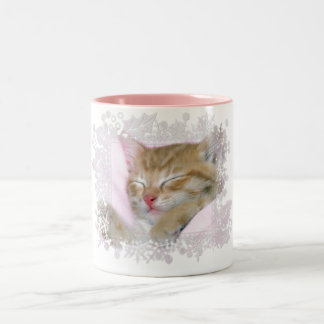 Sleeping Kitten Tag 1 - Coffee/Tea/Cocoa Mug