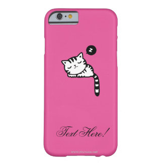 Sleeping Kitty Barely There iPhone 6 Case