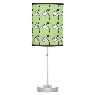 Sleeping Kitty Table Lamp