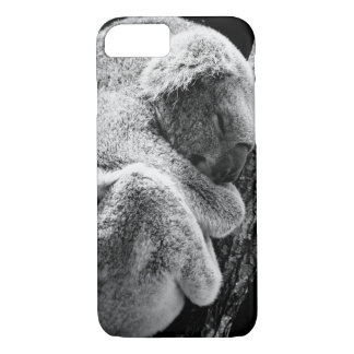 Sleeping koala bear phone protection case