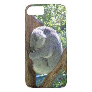 Sleeping Koala iPhone 7 Case