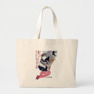 Sleeping Monster Canvas Bags