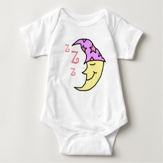 Sleeping moon baby shirt