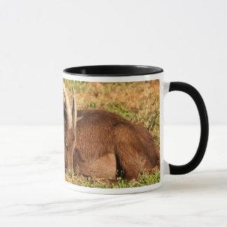 """""""Sleeping"""" New Moon Farm Goat Mug"""