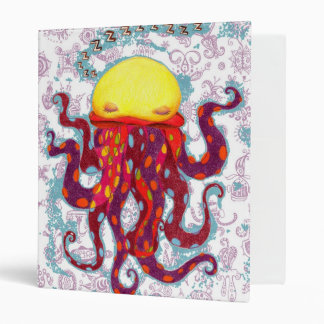 Sleeping Octopus Binder