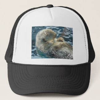 Sleeping Otter Trucker Hat