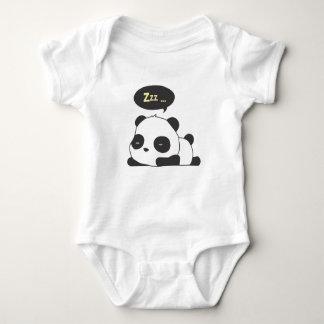 Sleeping Panda Baby Bodysuit