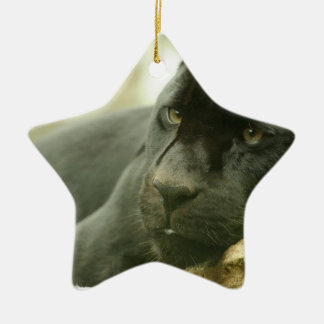Sleeping Panther Ornament