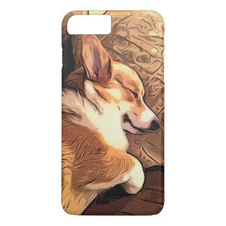 Sleeping Pembroke Welsh Corgi dog Case-Mate iPhone Case