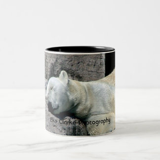 Sleeping Polar Bear Mug