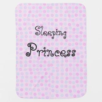Sleeping Princess Baby Blanket