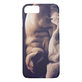 Sleeping Pug Cell Phone Case
