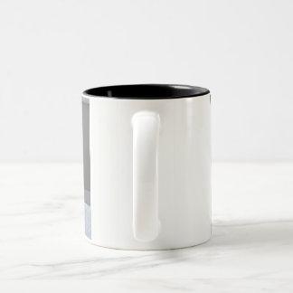 Sleeping puppy English Setter Two-Tone Coffee Mug