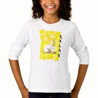 """sleeping Puppy"" fun colourful relax shirt. T-Shirt"