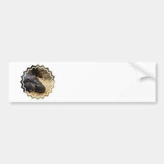 Sleeping Pygmy Hippo Bumper Stickers