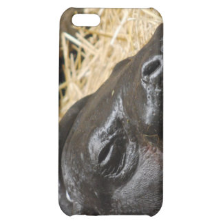 Sleeping Pygmy Hippo iPhone 4 Case