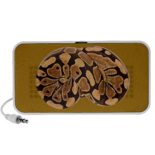 Sleeping Python design on Doodle by OrigAudio™ Notebook Speaker