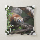 Sleeping Red Panda Pillow